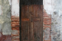San Miguel Door with Bricks