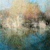 Lake Reflections - 30x40 inches - 2005 - acrylic on canvas