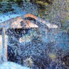 The Old Outhouse - 30x40 inches - 2003 - acrylic on canvas